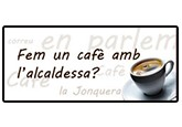 Cafè amb l'alcaldessa